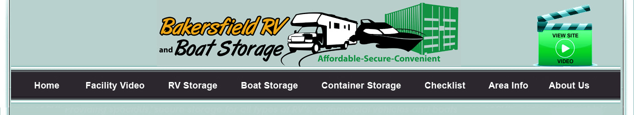 BakersfieldRV and Boat Storage & containers